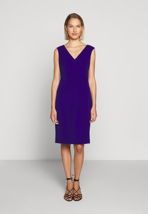 LUXE TECH DRESS - Shift dress - cannes blue
