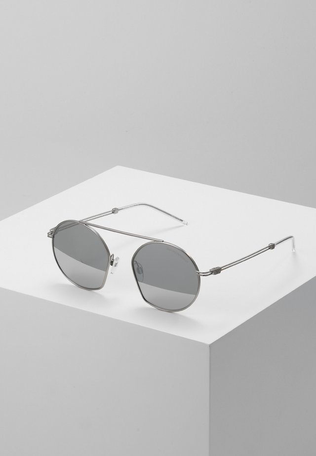 Sunglasses - matte silver-coloured