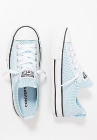 Converse - CHUCK TAYLOR ALL STAR KIDS - Trainers - agate blue/black/white - 0