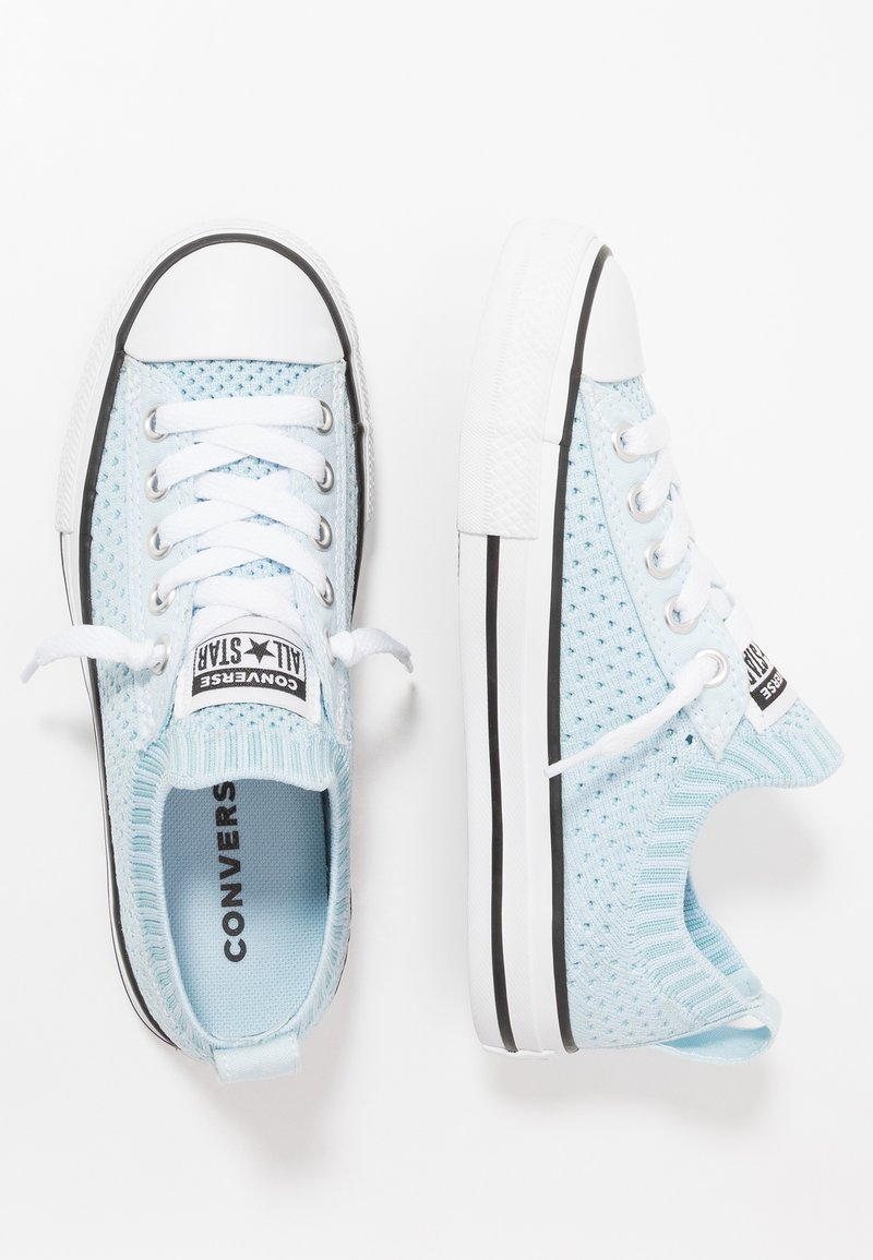 Converse - CHUCK TAYLOR ALL STAR KIDS - Trainers - agate blue/black/white