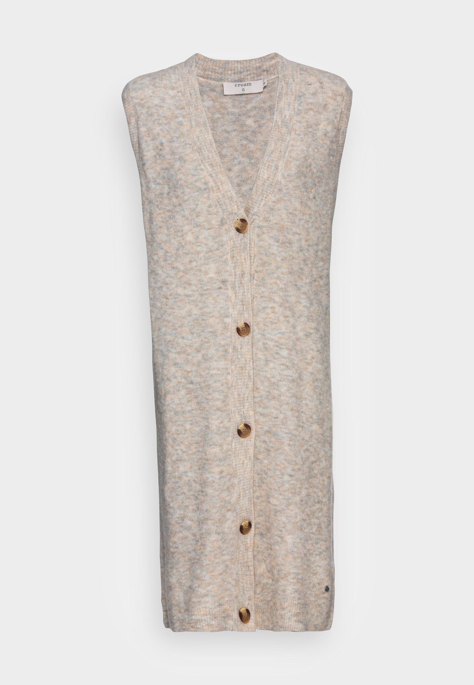 Women MERLE LONG SLIPOVER - Waistcoat