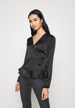 VMHENNA WRAP - Blouse - black