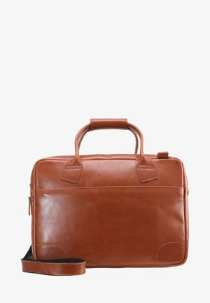 NANO BIG ZIP - Laptop bag - cognac