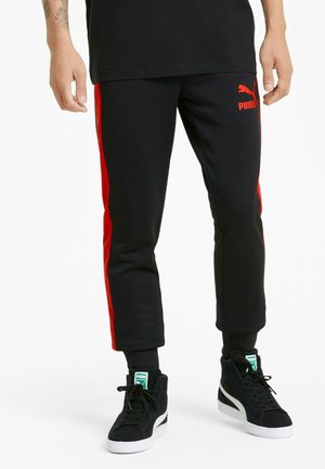 ICONIC T7  - Tracksuit bottoms - puma black