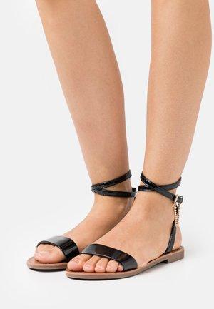 ONLMELLY CHAIN  - Sandals - black