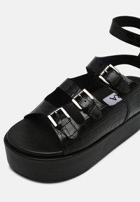 ASRA - PARKER - Sandals - black - 7