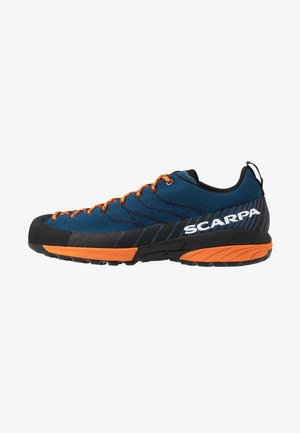 MESCALITO - Hiking shoes - blue/orange