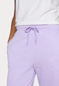 Pieces - CHILLI  - Teplákové kalhoty - lavendar - 5