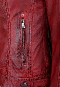 7eleven - VANESSA - Veste en cuir - red - 3