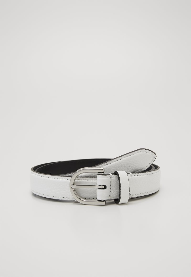 Calvin Klein - EVERYDAY FIX BELT  - Cinturón - white