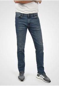 Solid - Slim fit jeans - blue dnm - 0