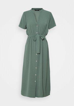 VMSAGA CALF SHIRT DRESS - Shirt dress - laurel wreath