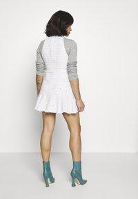 Miss Selfridge Petite - BOUCLE PINNY DRESS - Day dress - ivory - 2