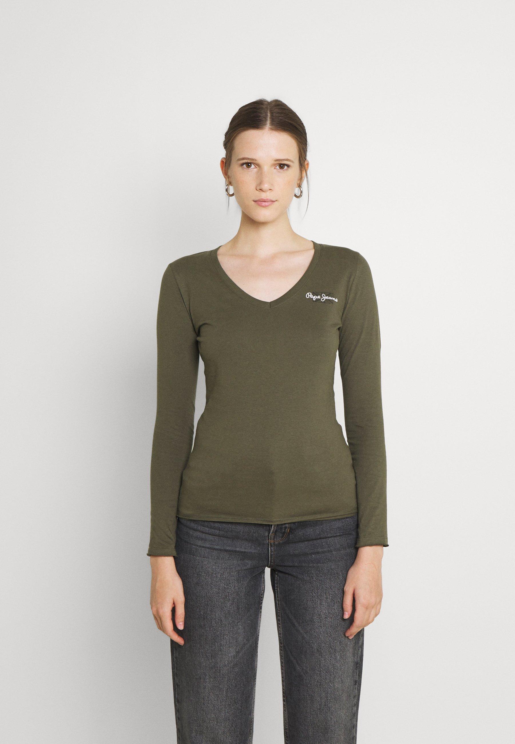 Women BLEU - Long sleeved top