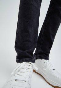 PULL&BEAR - Jeans slim fit - black denim - 5