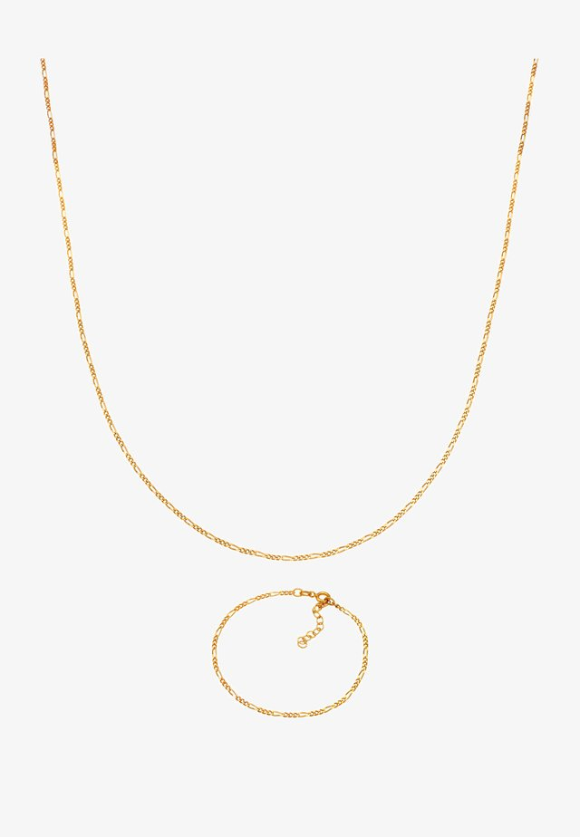 2ER SET BASIC - Ketting - gold