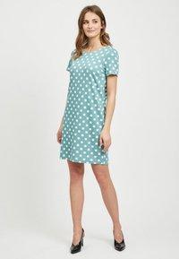 Vila - VITINNY - Shift dress - turquoise - 1