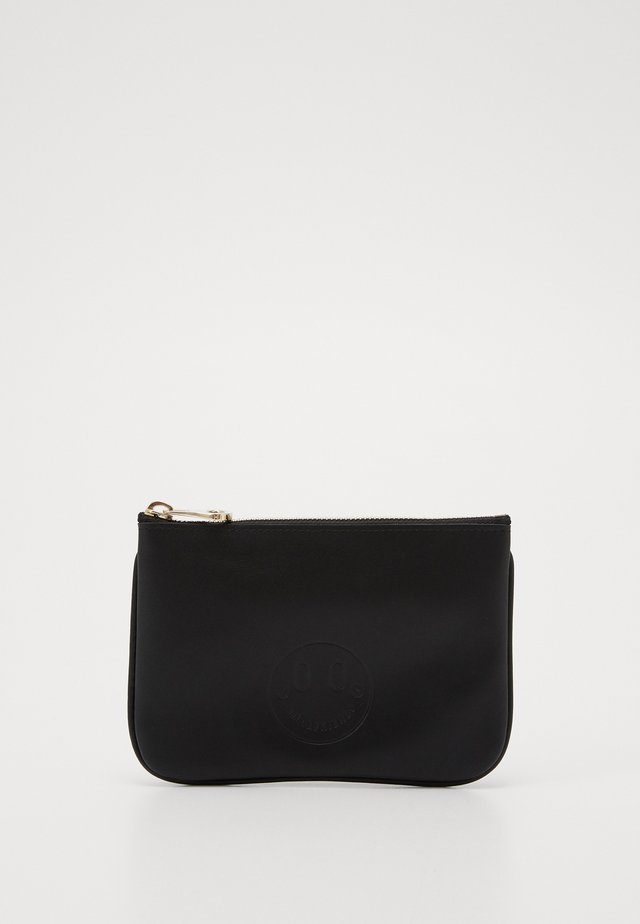 HAPPY MINI POUCH - Pochette - black