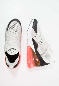 Nike Sportswear - AIR MAX 270 - Sneakers laag - light bone/white/black/hot punch - 0