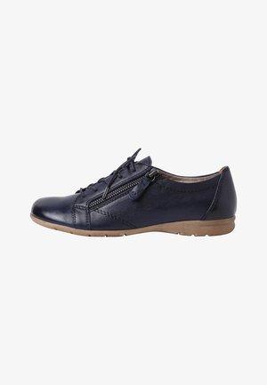 Volnočasové šněrovací boty - navy