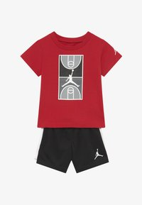 Jordan - COURT GRAPHIC TEE SET - Sports shorts - black - 3