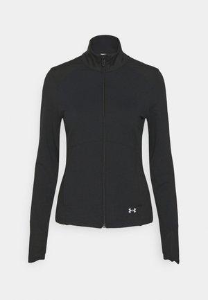 MERIDIAN JACKET - Training jacket - black/metallic silver