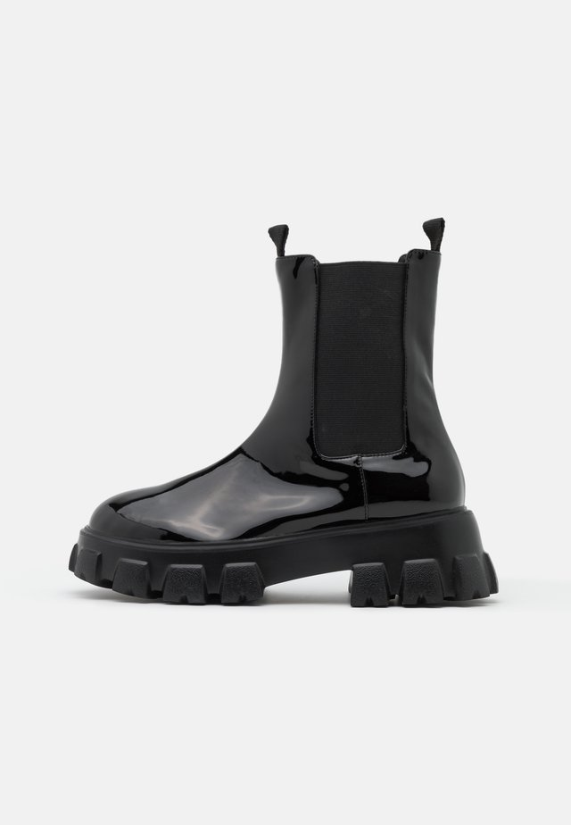 BITE IT CHELSEA BOOT - Bottines à plateau - black