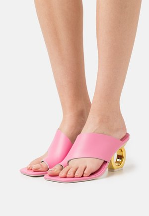 SIGRID - T-bar sandals - flamingo pink