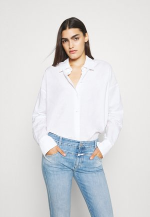 PEDAL QUEEN - Straight leg jeans - mid blue