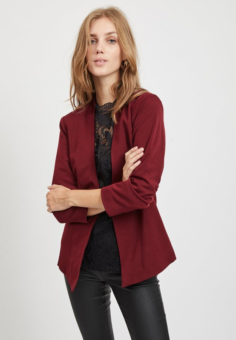 Vila - VIHER  - Blazer - dark red