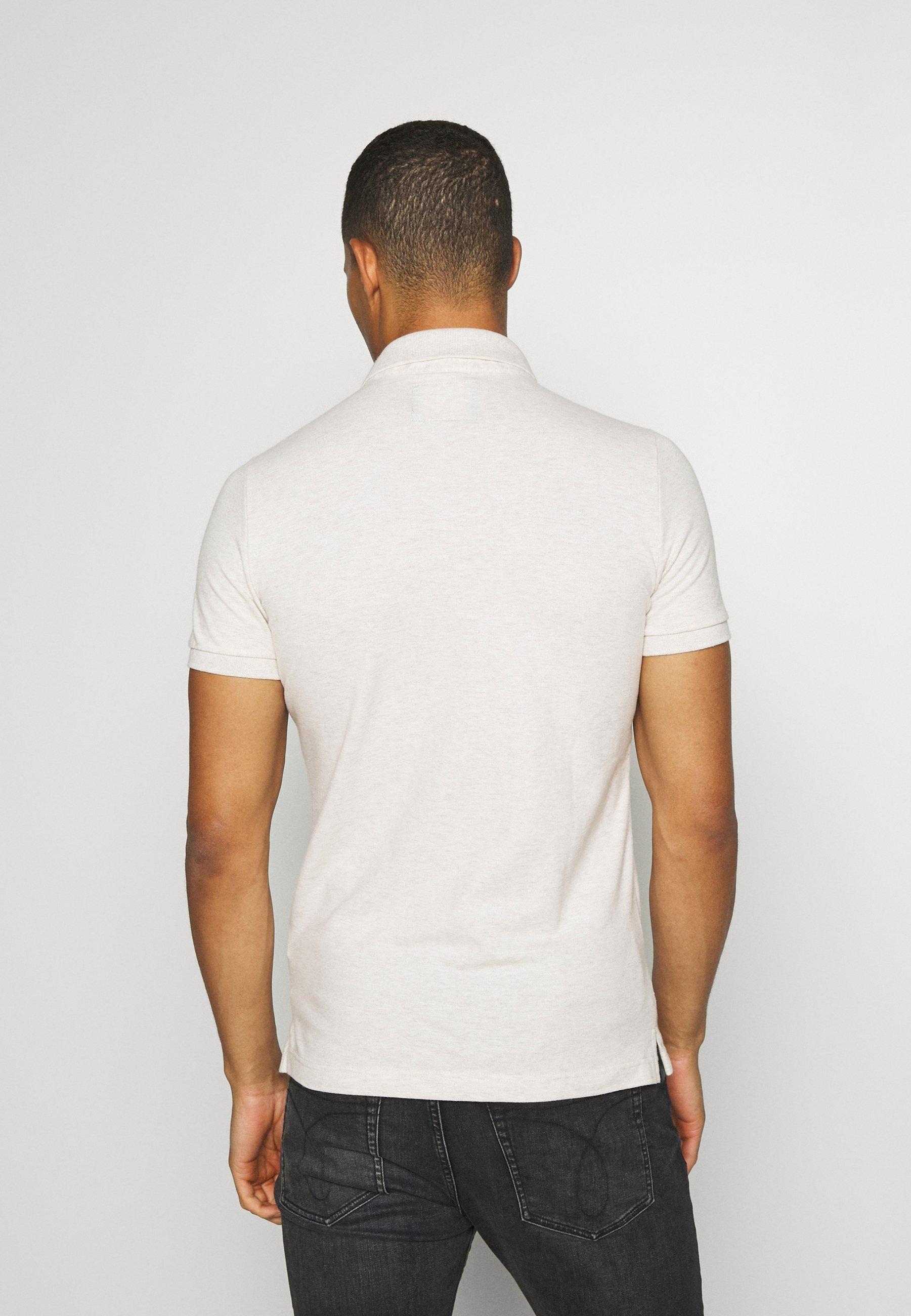 Hollister Co. Polo shirt - oatmeal fR8qu
