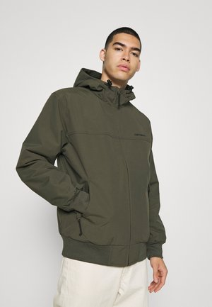HOODED SAIL JACKET - Light jacket - cypress/black