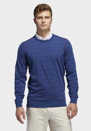 ADIPURE SPRING CREWNECK SWEATSHIRT - Sweatshirts - blue