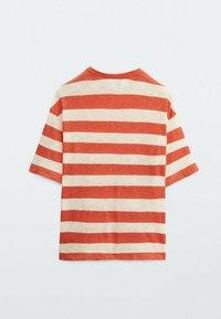 Massimo Dutti - Print T-shirt - red - 2