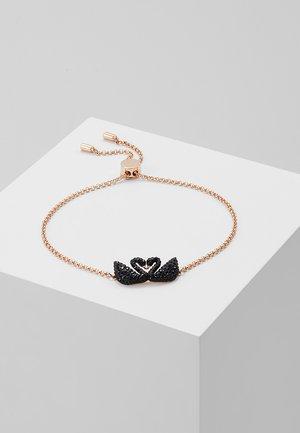 ICONIC SWAN BRACELET  - Bracelet - rosegold-colored/black