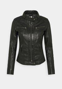 Oakwood - HOLA - Leather jacket - black - 0