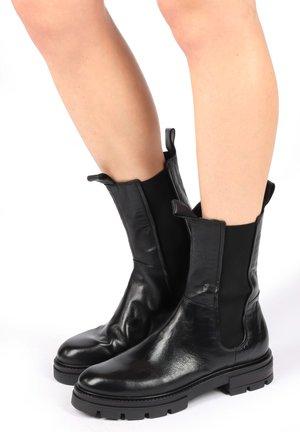 HIGH TOP  - Platform boots - nero