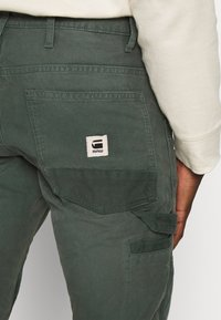 G-Star - FAEROES CLASSIC STRAIGHT TAPERED PM - Trousers - balsam - 4