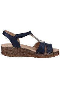 Jenny - Sandalen met sleehak - blue - 6