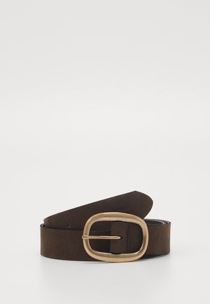 BELT LADIES - Belte - dark chocolate
