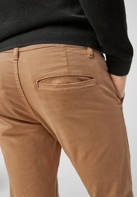 QS by s.Oliver - Trousers - brown - 4