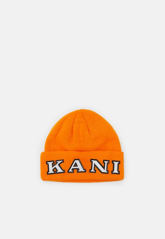 RETRO BEANIE - Pipo - orange