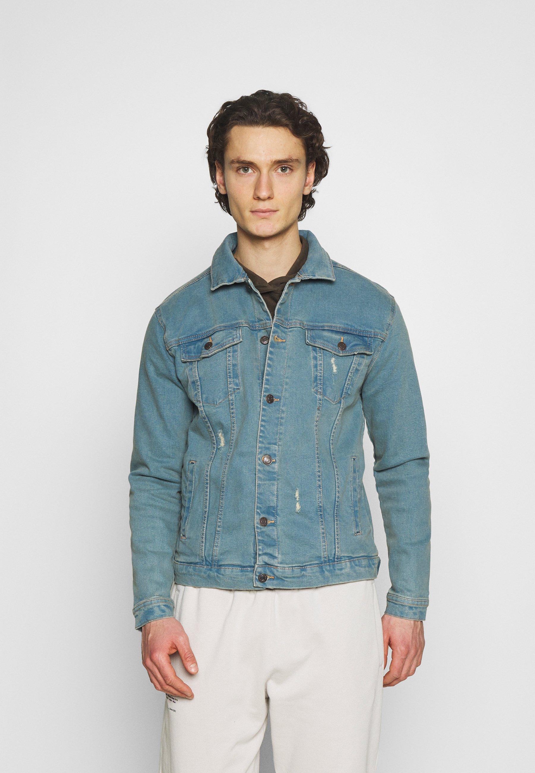 Men KASH DESTROY JACKET - Denim jacket