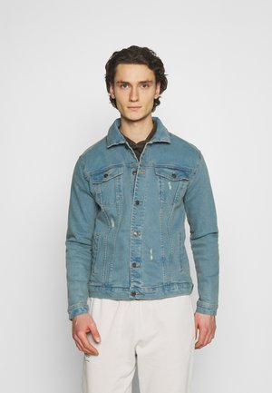 KASH DESTROY JACKET - Denim jacket - light blue