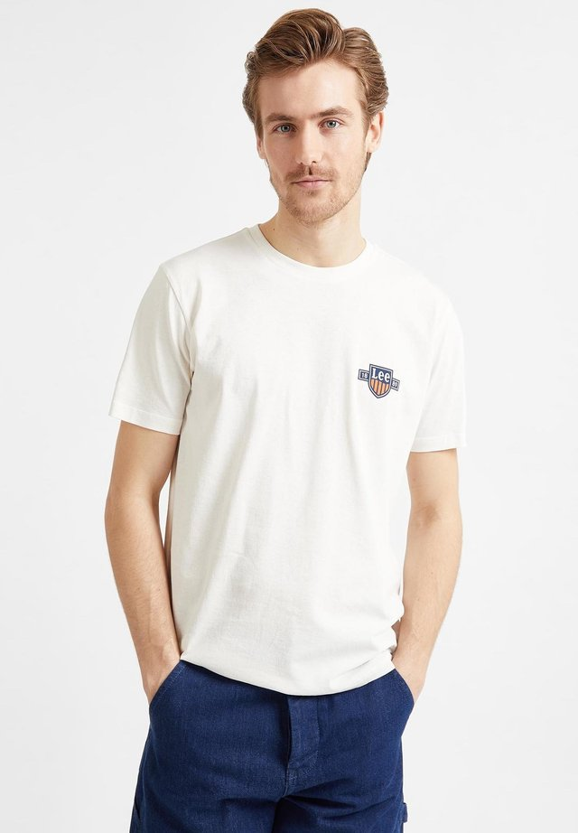 Basic T-shirt - white canvas