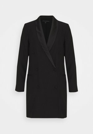 BLAZER DRESS - Shift dress - black