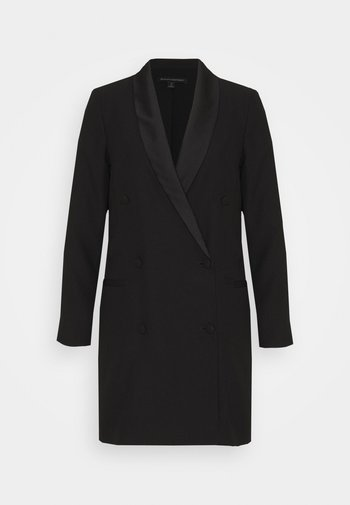 BLAZER DRESS - Shift dress - black