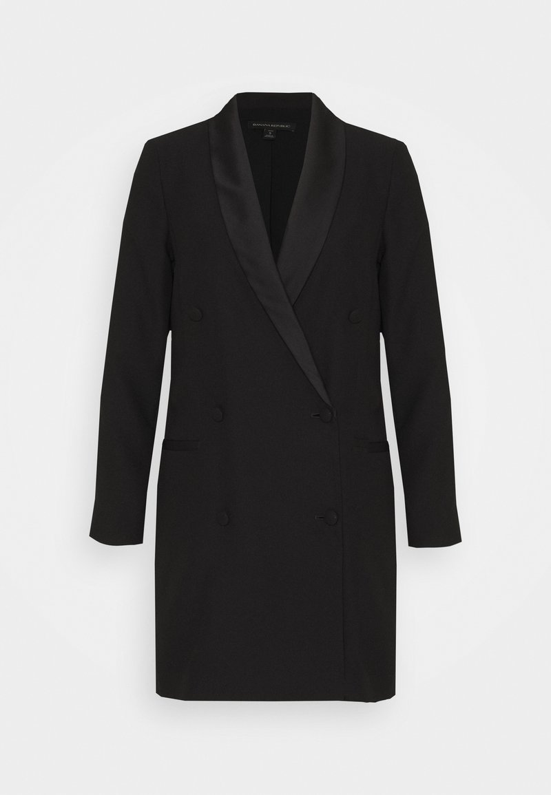 Banana Republic Petite - BLAZER DRESS - Shift dress - black