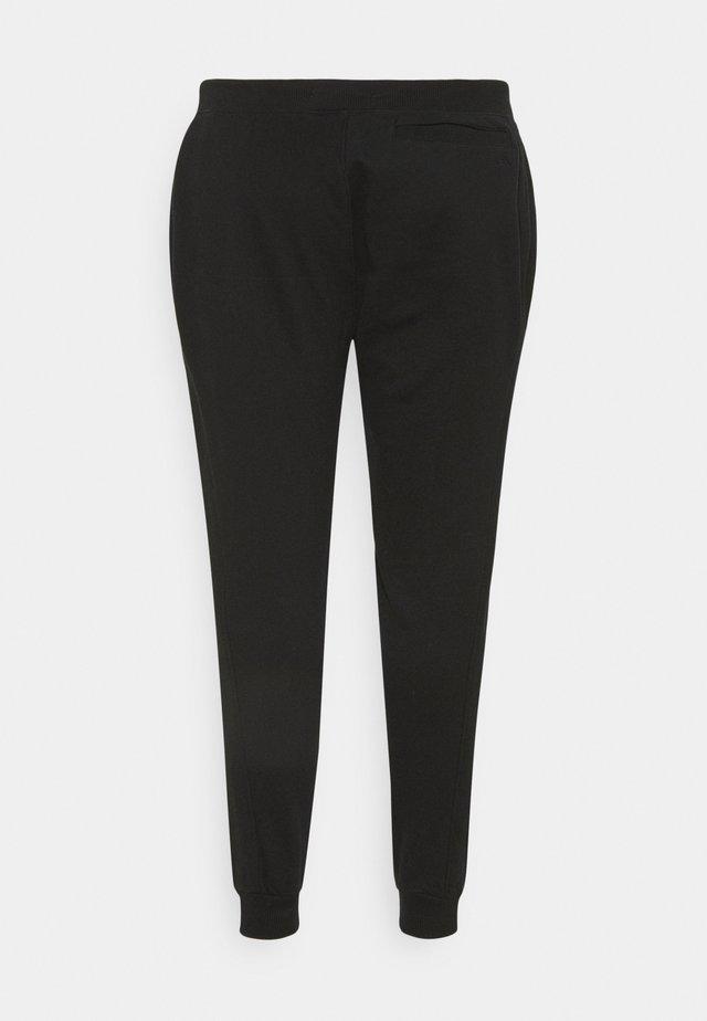 PLUS MICRO BRANDING PANT - Pantaloni sportivi - black