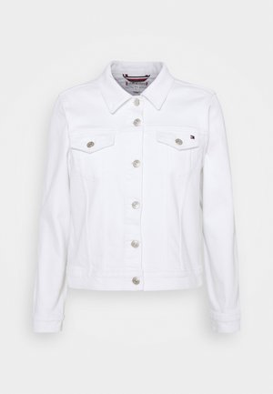 JACKET - Jeansjakke - white